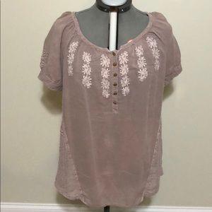 NWOT Nine West short sleeve blouse